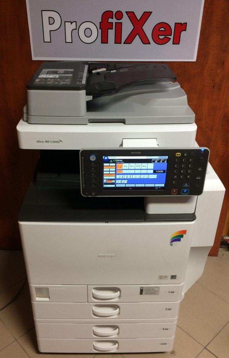 Ricoh MP C3002- kolor jak nowy